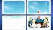 ...новогоднему, праздничному, со снеговиками, герляндами, елочками и морозом витиевато пишущем на окнах свои...