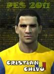 pes 2011 Cristian Chivu Face by jorgze