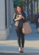 Gina Carano Tight Pants & High Heels Candids February 2, 2012