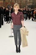 Клменс Пози, фото 161. Clmence Posy Arrives at the Burberry Autumn Winter 2012 Womenswear Show during London Fashion Week - 20.02.2012, foto 161