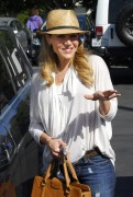 Джули Бенц, фото 1155. Julie Benz leaving Mauros Cafe in Melrose - March 3, 2012, foto 1155