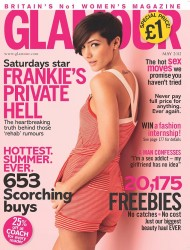 Frankie Sandford *1 ADD* Glamour Magazine May 2012 x3