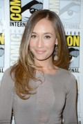 Maggie Q - Nikita event at Comic-Con 07/12/12