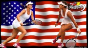 PHOTOSHOP - US OPEN Ana Ivanovic and Sorana Cirstea