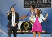 Деми Ловато, фото 121. Demi Lovato performs during ABC's 'Good Morning America' (august 13), photo 121